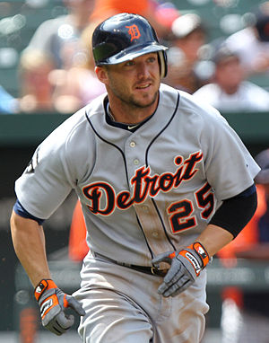 Ryan Raburn - Raburn with the Detroit Tigers in 2011