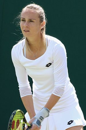 Magdaléna Rybáriková - Rybáriková at the 2016 Wimbledon Championships