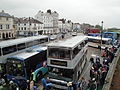 Ryde bus station during Isle of Wight Festival 2010.JPG