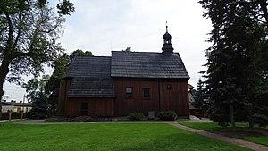 Ryszewko, Kuyavian-Pomeranian Voivodeship - Mary Magdalene wooden church from second half of the 18th century.