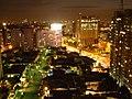 São Paulo, Vila Mariana. Rua Eça de Queirós e Av. 23 de Maio à noite. - panoramio.jpg