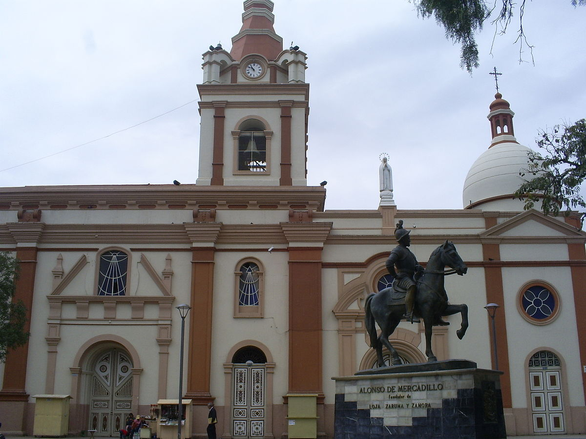 Iglesia de san francisco loja ecuador wikipedia la for Ministerios del ecuador