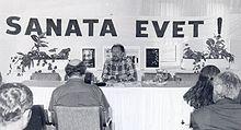 1992 yılında tamer levent in başlattığı sanata evet