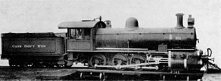 South African Class Experimental 2 2-8-0 class of 1 South African 2-8-0 locomotive