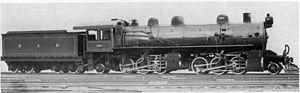 2-6-6-2 - CSAR no. 1023, SAR Class MF
