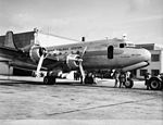 SAS DC-4, Dan Viking, OY-DFI, the first SAS flight over NYC, New York (1).jpg