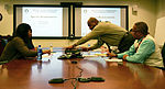 SDDC teleconference fills void in DOD shipper training, education 121129-A-IU332-003.jpg