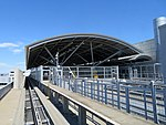SFO station from AirTrain, July 2018.JPG