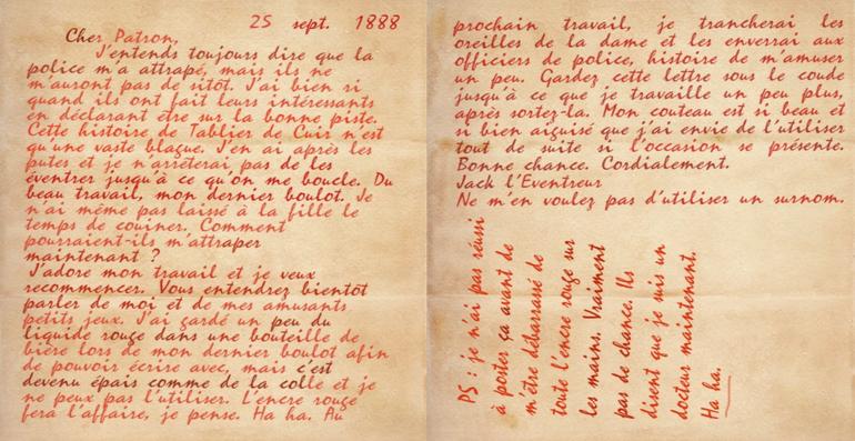 """Lettre """"Dear Boss"""" traduite"""