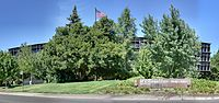 SMUD Headquarters Building Front Facade Panorama.jpg