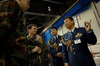 Air attaché - Air attachés assigned to the Japanese Embassy in Washington, D.C..