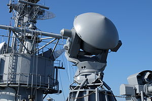 STIR Tracking and Illuination Radar Mounted on ROCN Lan Yang (FFG-935) 20141123.jpg