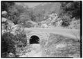 SWITCHBACK CULVERT, FACING SOUTH - Generals Highway, Three Rivers, Tulare County, CA HAER CAL,54-THRIV.V,2-104.tif
