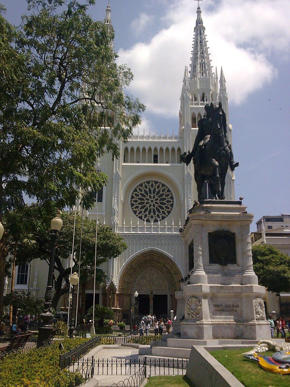 Catedral metropolitana de Guayaquil - Wikipedia, la enciclopedia libre