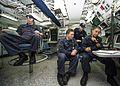 Sailors stand watch aboard USS Mustin. (10310946793).jpg