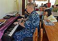 Sailors volunteer at the Bukit Harapan Orphanage. (8539051893).jpg