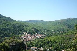 Saint-Gervais-sur-Mare - A general view of Saint-Gervais-sur-Mare