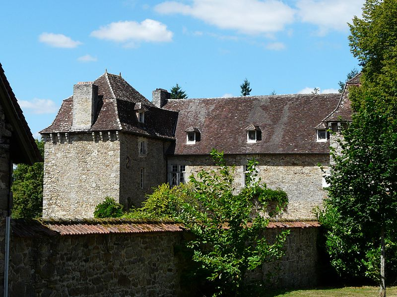 File:Saint-Yrieix-la-Perche château Douillac.jpg