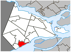 Saint-Zotique, Quebec - Image: Saint Zotique Quebec location diagram