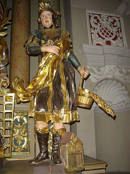 Datei:Saint Florian in Vilnius Cathedral.jpg