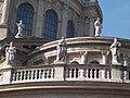 Saint Jude Thaddeus, Saint Bartholomew and Saint John at the St. Stephen's Basilica, 2016 Budapest.jpg