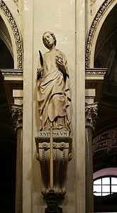 Saint Nympha - Cathedral of Palermo - Italy 2015.JPG