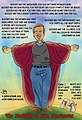 Saint Santorum political cartoon caricature by Greg Uchrin.jpg