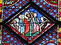 Sainte-Chapelle - Moses strikes water of the Red sea.jpg