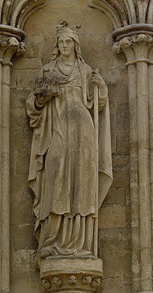 Salisbury Cathedral St Etheldreda.jpg