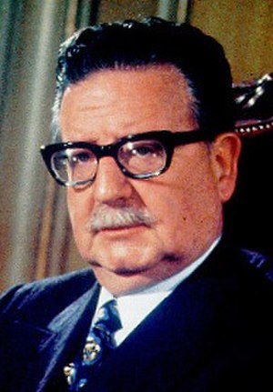 Chilean presidential election, 1970 - Image: Salvador Allende Gossens (cropped)