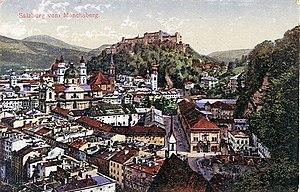 Salzburg - Salzburg in 1914