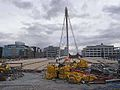 Samuel Beckett Bridge under construction - geograph.org.uk - 1410522.jpg