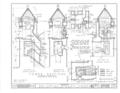 San Carlos Presidio Church, 550 Church Street, Monterey, Monterey County, CA HABS CAL,27-MONT,1- (sheet 7 of 28).png