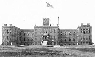 UC San Diego Medical Center, Hillcrest - San Diego County Hospital, 1908