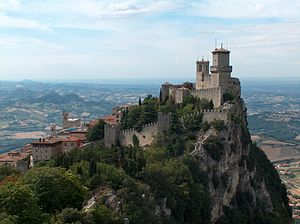 English: San Marino Castle, Republic of San Ma...