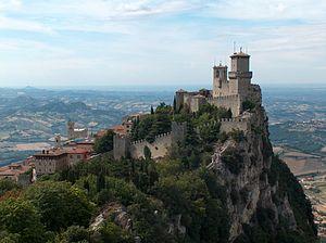 English: San Marino Castle, Republic of San Ma...