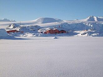 San Martín Base - San Martín in 2008 austral winter