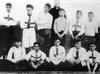 Club Atlético San Isidro - A San Isidro squad using their first jersey