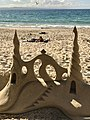 Sand castles at Noosa Heads beach, Queensland, Australia 01.jpg