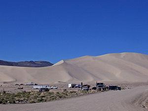 Sand Mountain (Nevada) - Sand Mountain Recreation Area, campground and OHVs
