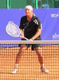 Sandra Klemenschits at the 2011 BCR Open Romania Ladies.jpg
