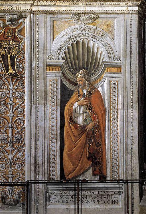 Sandro Botticelli - St Sixtus II - WGA2754
