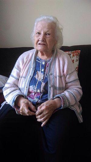 Sabahattin Ali - Sabahattin Ali's sister Saniye Süheyla Conkman (1922-2017)