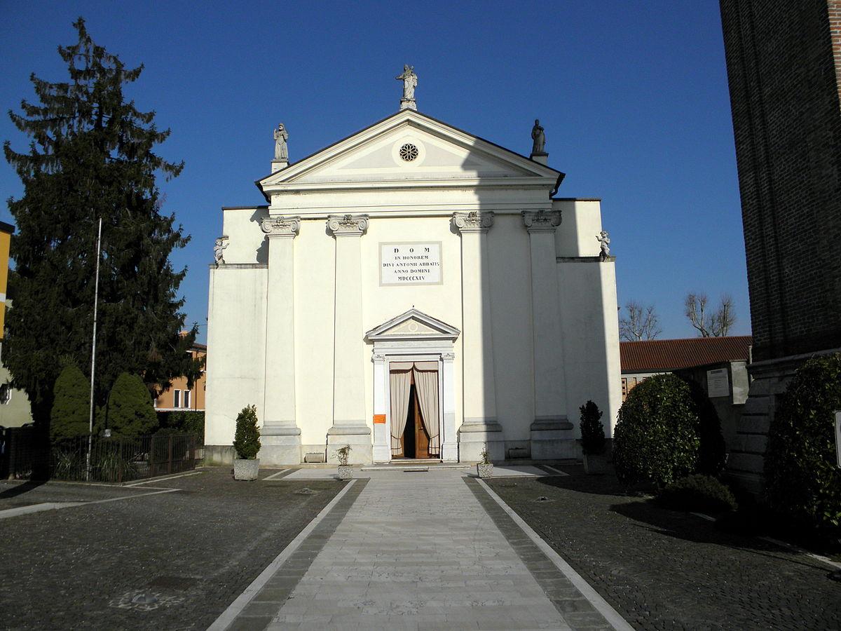 Chiesa di sant 39 antonio abate paluello wikipedia for Arredo bimbo sant antonio abate