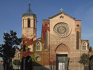 Sant Esteve church in Granollers, Catalonia