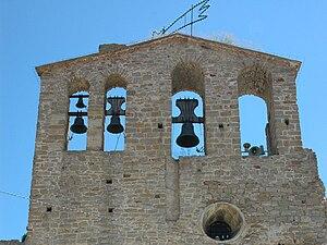 Bell-gable - Image: Sant Pere d'Ullastret Espadanya