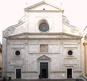 Image illustrative de l'article Basilique Sant'Agostino in Campo Marzio