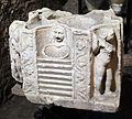 Santa maria in via lata, sotterranei del II-III secolo, 08 altare.jpg