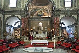 Santi Apostoli, Venice - Image: Santi Apostoli (interno)