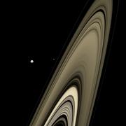 Saturn's Rings, Mimas, Epimetheus - November 06 2007 - Flickr - Kevin M. Gill.png